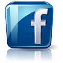Glossy facebook 128px